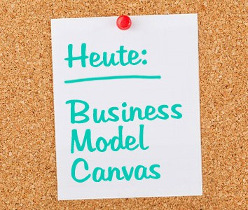 Business Model Canvas - halbdeins