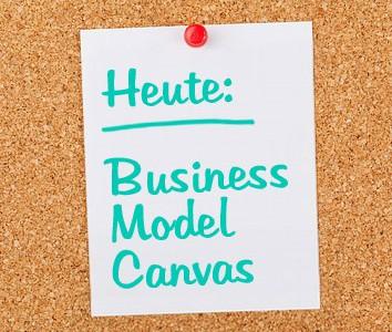 Business Model Canvas - halbdeins
